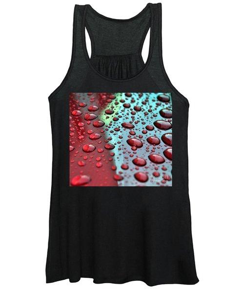 Red Rain Women's Tank Top