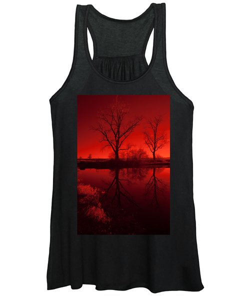 Red Reflections Women's Tank Top