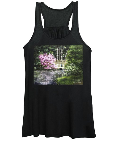 Reflections Of Spring Women's Tank Top