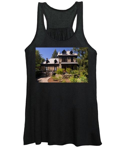 Rhine House At Beringer Winery St Helena Napa California Dsc1724 Women's Tank Top