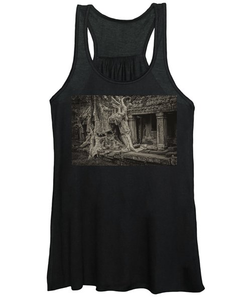 Roots In Ruins 7, Ta Prohm, 2014 Women's Tank Top