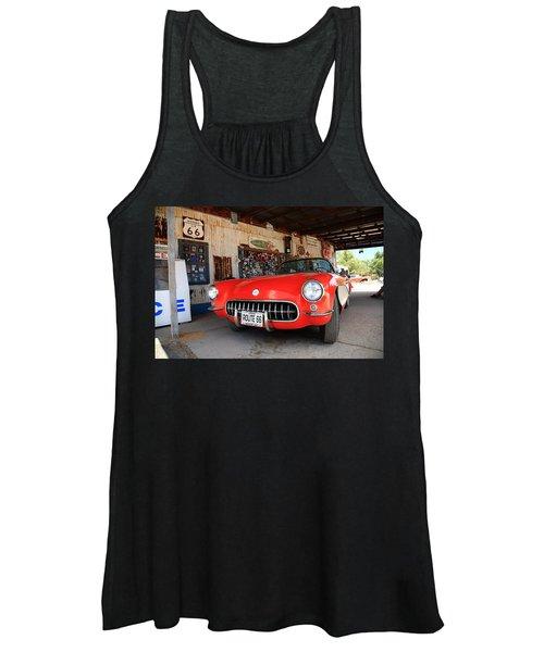 Route 66 Corvette Women's Tank Top