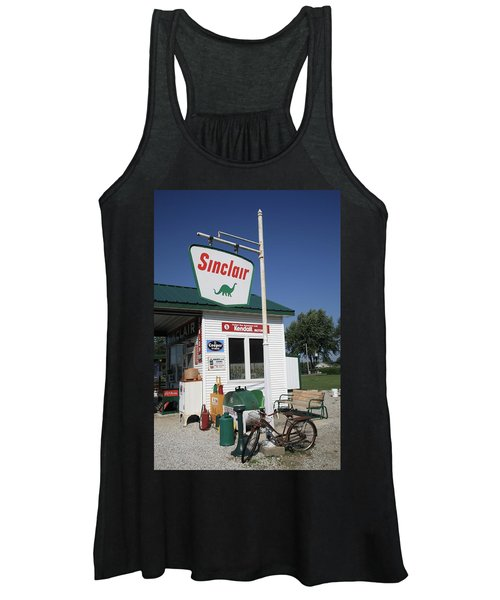 Route 66 - Sinclair Station Women's Tank Top