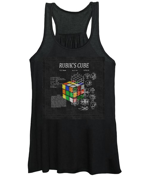 Rubik's Cube Patent 3 Women's Tank Top