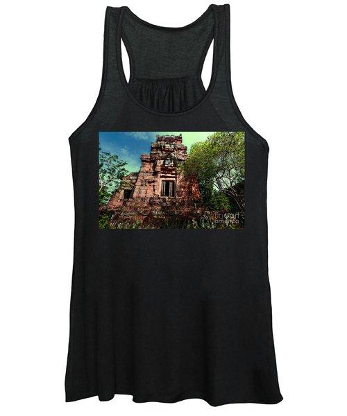 Ruin At Angkor Women's Tank Top