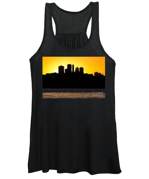 San Francisco Silhouette Women's Tank Top