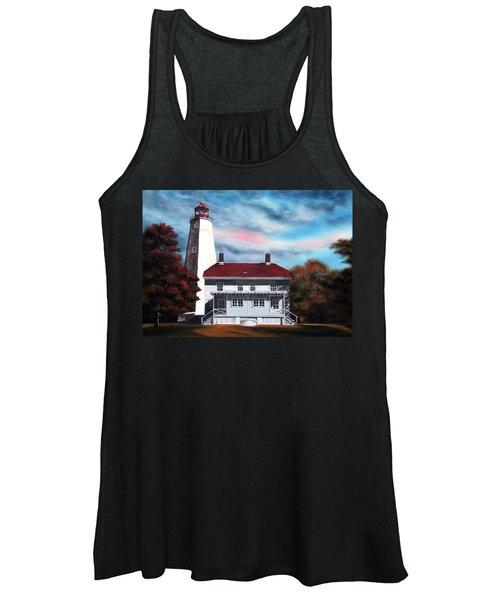 Sandy Hook Lighthouse Women's Tank Top
