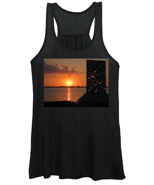 Sarasota Bay Sunset Women's Tank Top