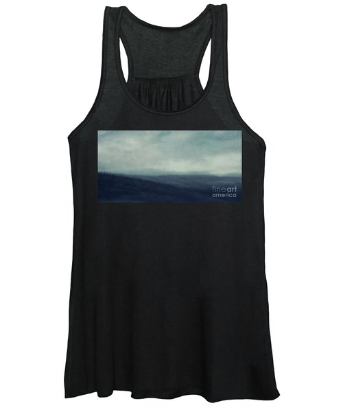 Sea Of Trees And Hills Women's Tank Top