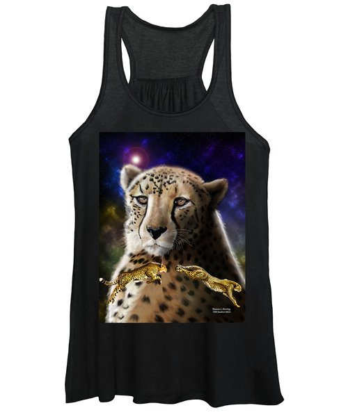 First In The Big Cat Series - Cheetah Women's Tank Top
