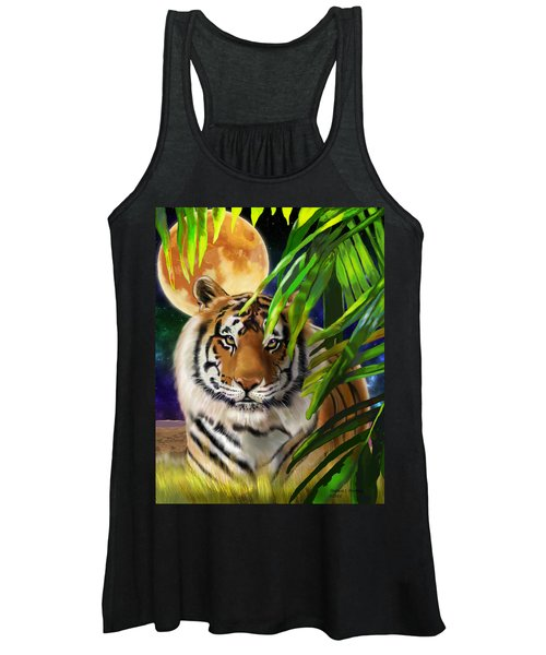 Second In The Big Cat Series - Tiger Women's Tank Top