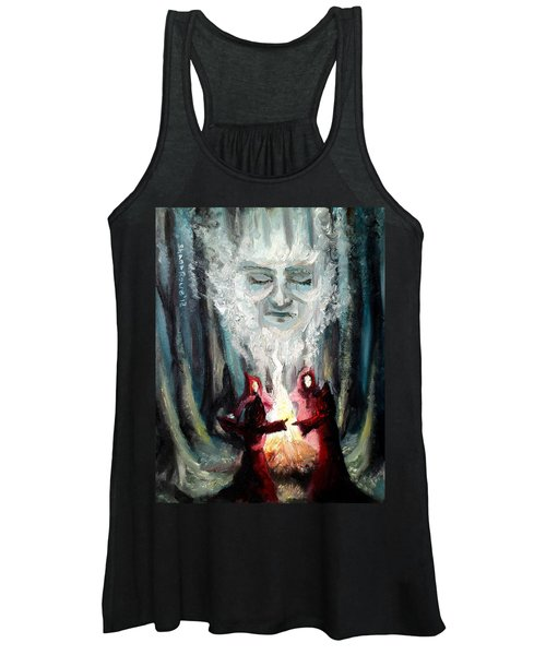 Sisters Of The Night Women's Tank Top
