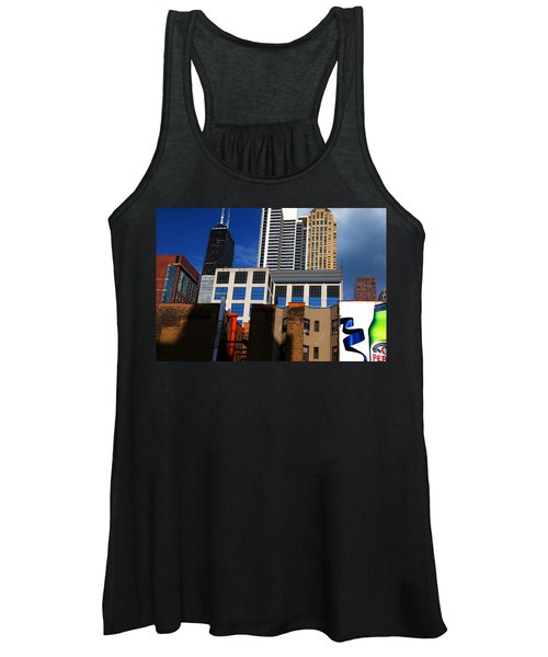 Skyline Building Blocks Women's Tank Top