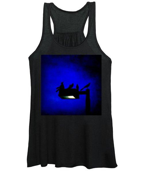 Sleepless At Midnight Women's Tank Top