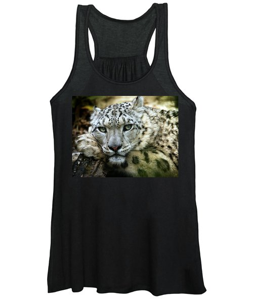 Snow Leopard Women's Tank Top