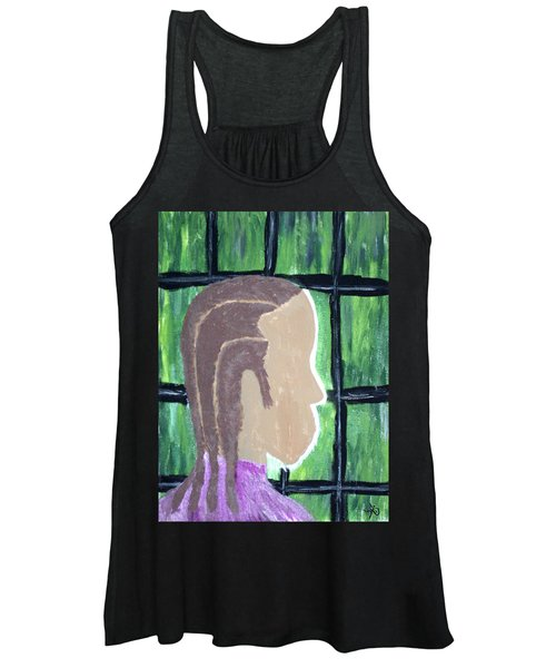 Soon - Abstract Painting - Ai P. Nilson Women's Tank Top