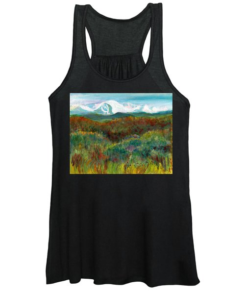 Spanish Peaks Evening Women's Tank Top