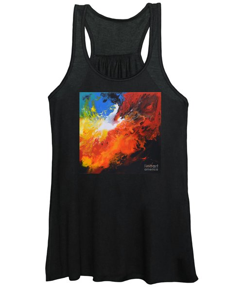 Spark Of Life Canvas Three Women's Tank Top