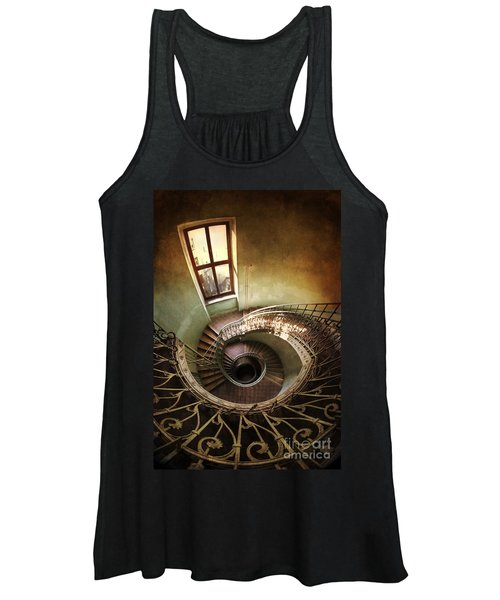 Spiral Staircaise With A Window Women's Tank Top