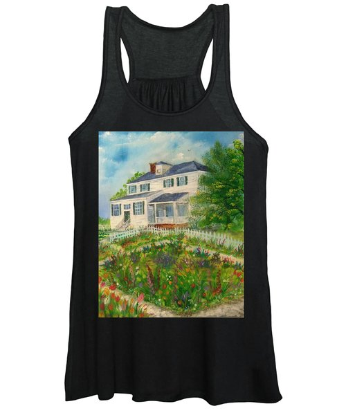 Spring In Colonial Williamsburg- Cole House Women's Tank Top