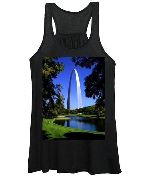 St Louis Gateway Arch Women's Tank Top