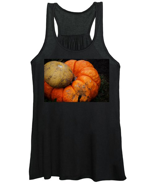 Stacked Pumpkins Women's Tank Top