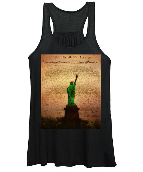 Stand Up For Freedom Women's Tank Top