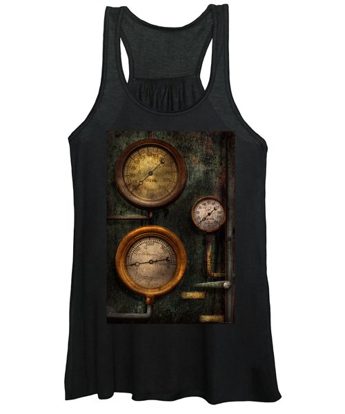 Steampunk - Plumbing - Gauging Success Women's Tank Top
