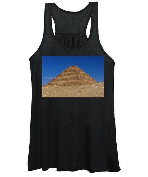 Step Pyramid Of King Djoser At Saqqara  Women's Tank Top