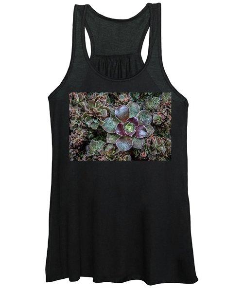 Succulent Art Women's Tank Top