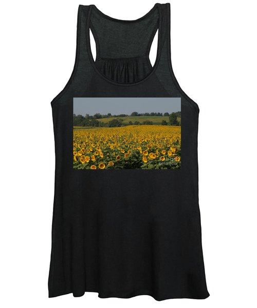 Sun Flower Sea Women's Tank Top