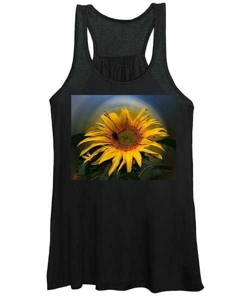 Sun Flower Summer 2014 Women's Tank Top