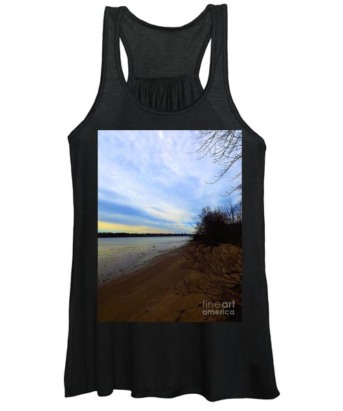 Sundown By The Side Of The River Women's Tank Top
