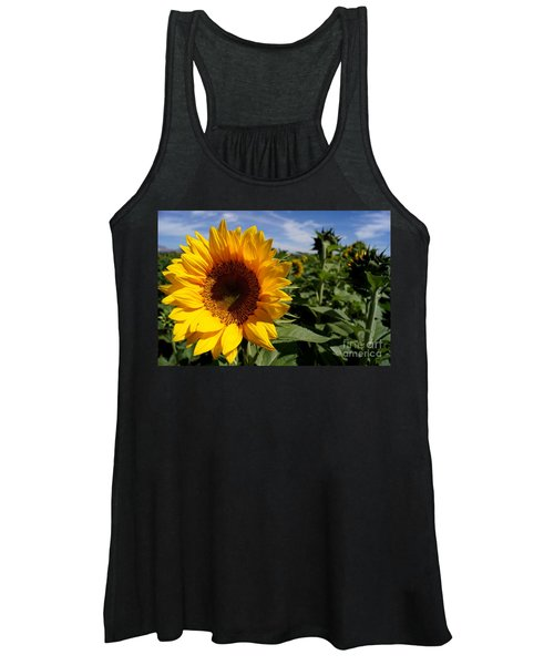 Sunflower Glow Women's Tank Top