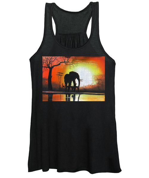 Sunrise In Africa Women's Tank Top