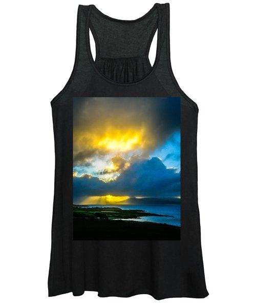 Women's Tank Top featuring the photograph Sunrise Over Sheep's Head Peninsula by James Truett