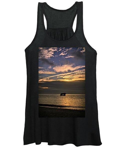 Sunset Beach Cape May Women's Tank Top