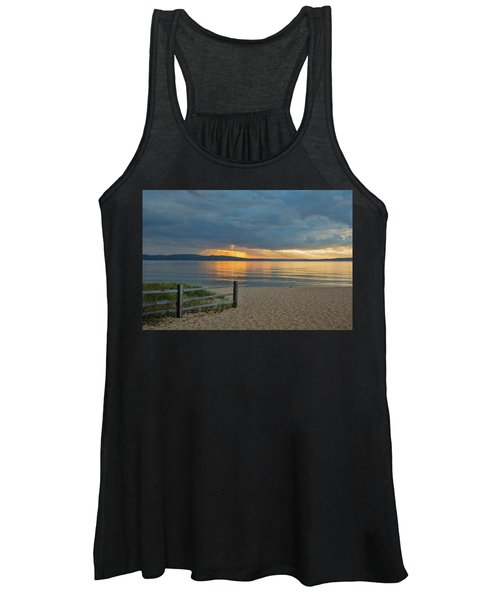 Sunset On South Bay, Lake Superior Women's Tank Top