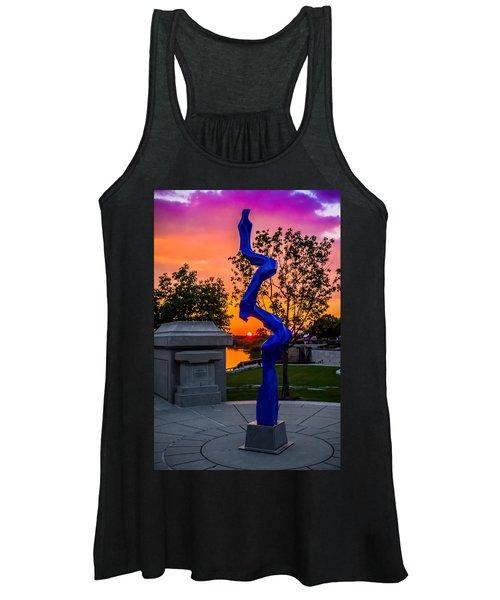 Sunset Sculpture Women's Tank Top