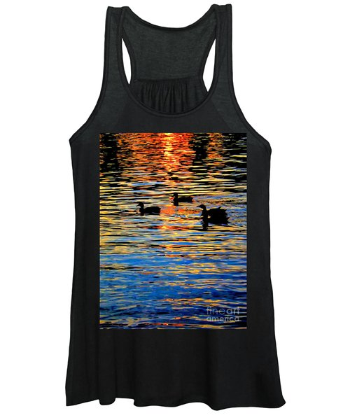 Sunset Swim Women's Tank Top