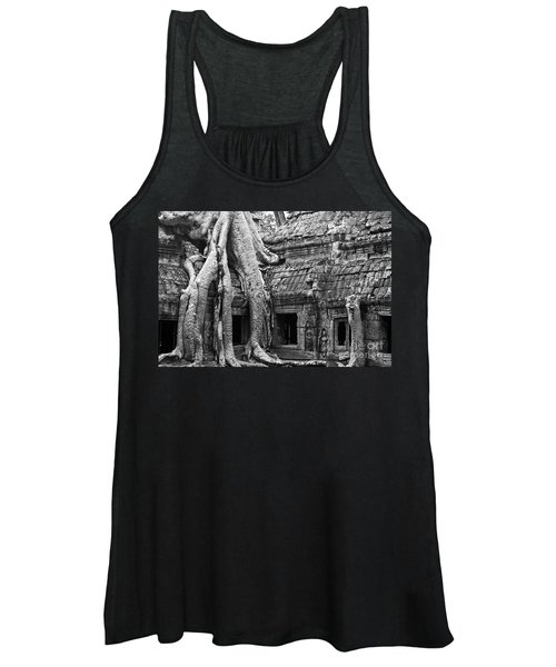 Ta Prohm Roots And Stone 01 Women's Tank Top