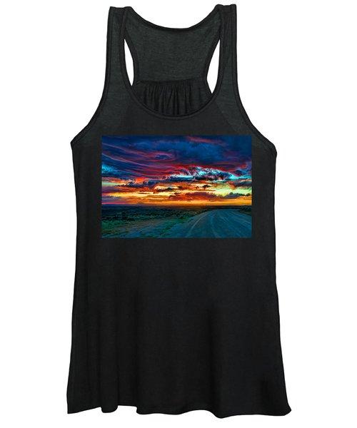 Taos Sunset Iv Women's Tank Top