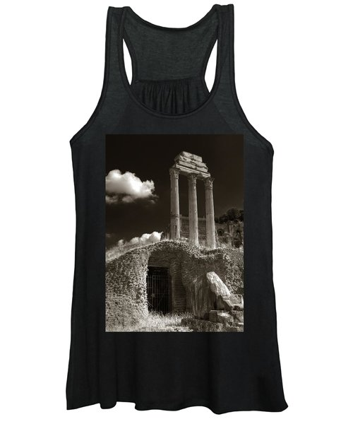 Temple Of Castor And Polux Women's Tank Top