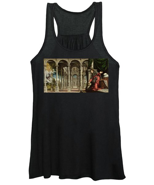 The Annunciation, 1545-50 Oil On Canvas For Detail See 89724 Women's Tank Top