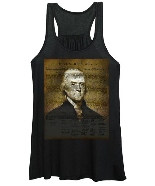 The Author Of America Women's Tank Top