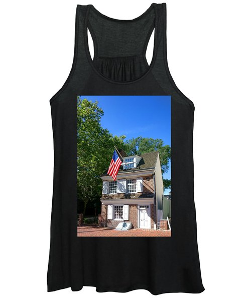 The Betsy Ross House Women's Tank Top