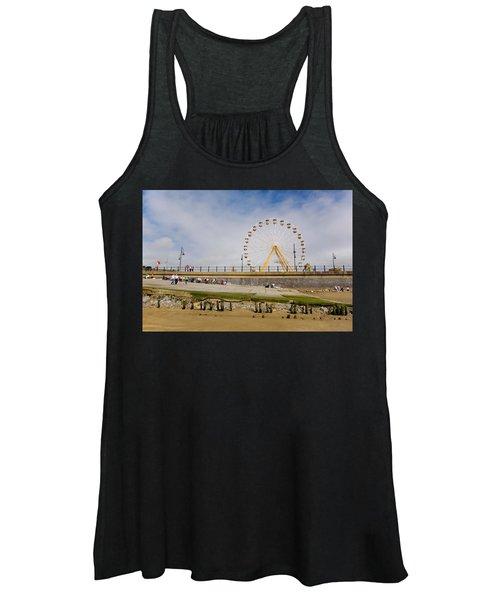 The Big Wheel And Promenade, Tramore Women's Tank Top