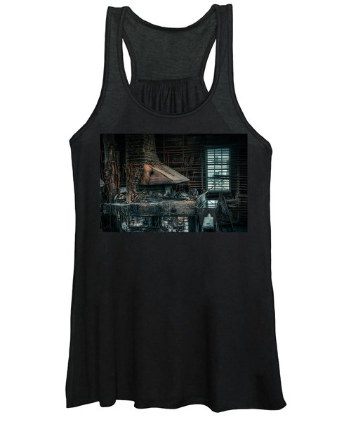The Blacksmith's Forge - Industrial Women's Tank Top