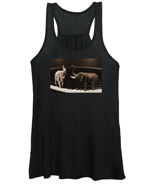The Elephant Walk Women's Tank Top