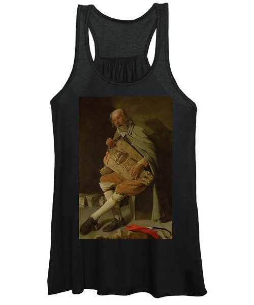 The Hurdy Gurdy Player Women's Tank Top